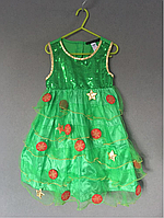Новогоднее платье Ёлочка