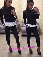 Женский стильный повседневный костюм в расцветках b-t21039