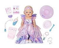 """Интерактивная кукла BABY BORN """"Фея"""" Zapf Creation, 43 см 824191"""