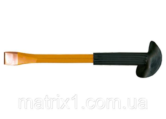 Зубило, 250 х 20 мм, з протектором// SPARTA