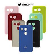TPU чехол Mercury Jelly Color series для LG Google Nexus 5x