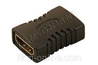 Переходник HDMI (мама) - HDMI (мама) DL-1338