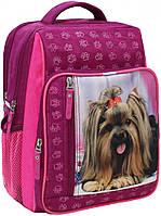 Школьный рюкзак для девочки с собачкой, фото 1