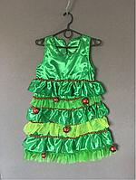Новогоднее платье Ёлка