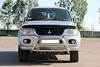 Защита переднего бампера (кенгурятник)  Mitsubishi Pajero Sport 1996-2008