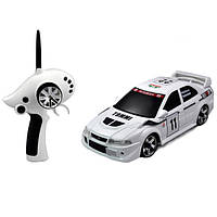 Автомодель Firelap р/у 1:28 IW02M-A Mitsubishi EVO 2WD (белый) FLP-205G6w