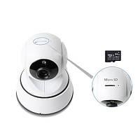 WI-FI IP камера поворотная HD 720P управлением через IOS или Android смартфон (модель Unitoptek M201F)