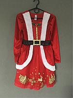Новогодний костюм Рождественское платье