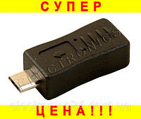 Переходник micro USB (F) - mini USB (M) DL-1371