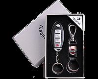 Подарочный набор 2в1 Зажигалка, Брелок (8 видов - 8 марок машин)