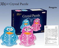 "Пазлы 3D-кристалл ""Пингвин"",  62 дет., 2 шт. в кор. 27х18х6 /48-2/"