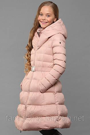 Длинное зимнее пальто без меха на  подростка Элисон нью вери (Nui Very) в Украине по низким ценам, фото 2