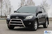 Защита переднего бампера (кенгурятник)  Toyota Rav-4 2005+