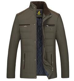 Теплая мужская куртка. Модель 6158