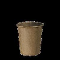 """Стакан бумажный Крафт """"Т"""" 175 мл.50шт  (54/2700) (кр69)"""