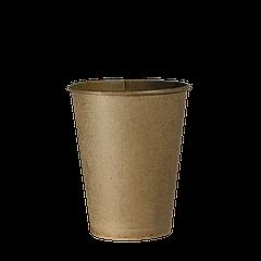 """Стакан бумажный Крафт """"Т"""" 250 мл.50шт (48/2400) (кр75)"""