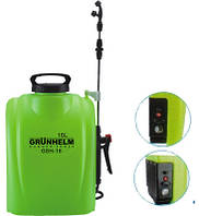 Опрыскиватель аккумуляторный GRUNHELM GHS-16 (16 л), фото 1