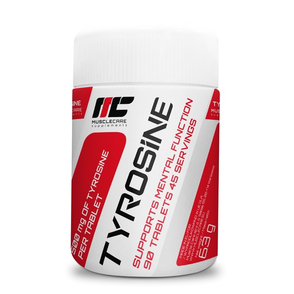 MuscleCare Tyrosine 90tabs маслкеар тирозин