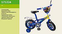 """Велосипед 2-х колесный 12"""", со звонком и зеркалом, без ручного тормоза, 171224"""