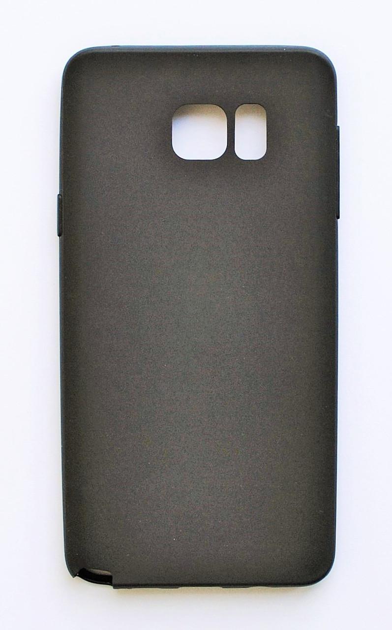 Чехол на Самсунг Galaxy Note 5 N920 Melody Силикон 0.5 мм Черный