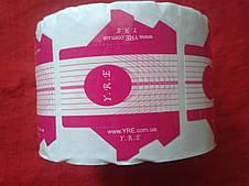 Форма для нарощування нігтів стилет рожева 500 шт.