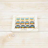 """Набор конфет """"Прапор 3в1"""" классическое сырье. Размер: 187х142х10мм, вес 165г, фото 1"""