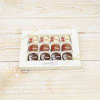 """Набор шоколадных конфет """"Вышиванка три в одном"""" Ш3"""