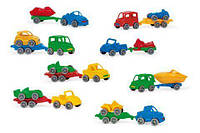 """Kid Cars Sport"" авто з причіпом, Wader /30/"