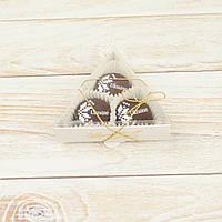 """Набор шоколадных конфет """"Вышиванка черный"""" треугольник, фото 1"""