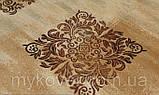 Вискозный бельгийский ковер песочного цвета, фото 2
