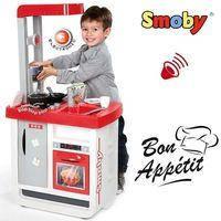 Интерактивная кухня Smoby Bon Appetit Red со звуковыми эффектами 310800