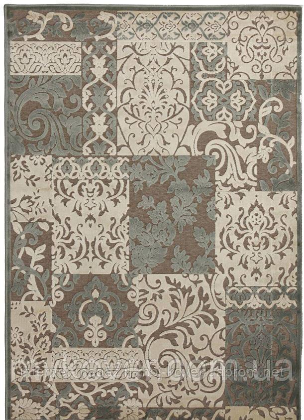 Рельефные ковры из вискозы