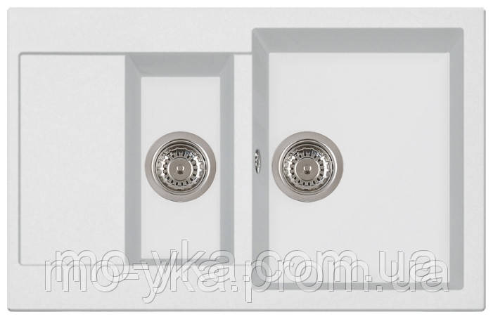 Гранитная кухонная мойка Longran Amanda AMG 780.500.15