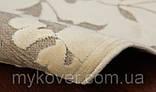 Белоснежный ковер из вискозы, фото 2