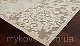 Білосніжний килим з віскози, фото 3