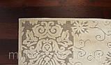 Белоснежный ковер из вискозы, фото 4