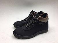 Мужские ботинки Columbia черно-коричневые нубук