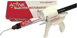 Біоцемент з диспенсером Activa BioActive-Restorative Starter Kit А2 (набір 8г+диспенсер) PulpDent