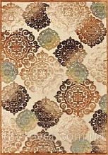 Бельгійський килим в сучасній класиці на світлому фоні