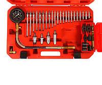 Компрессометр для дизельных двигателей с адаптерами 37 предметов JTC 4302