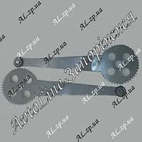 Ремкомплект механизма реечного стеклоподъемника Гранат Daewoo Nexia, Gentra, Chevrolet Lachetti, Opel Kadett