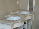 Ванні кімнати з мармуру в Києві Дніпропетровську Україні, фото 2