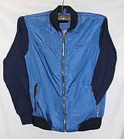 """Куртка мужская с вязанными рукавами, размеры 48-56 (3 цвета) Серии """" ANORAK """" купить оптом в Одессе на 7 км"""