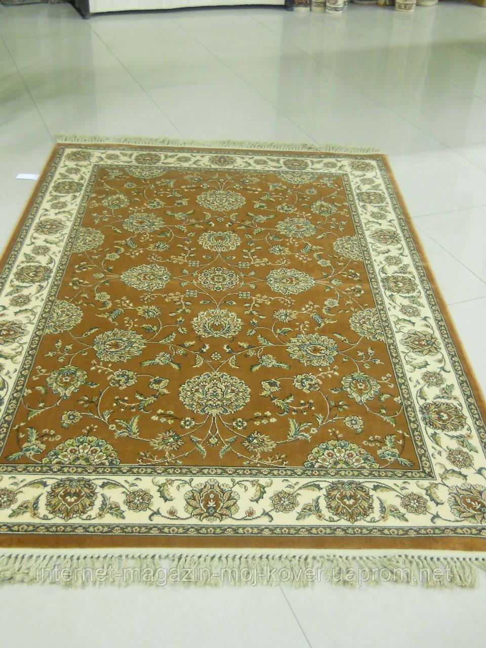 Класичні килими в коричневому кольорі