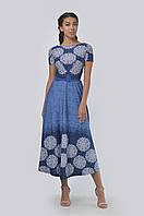 Удлиненное платье приталенного силуэта, выполненное из мягкой и приятной к телу ткани