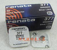 Батарейка для часов RENATA-377 SR626SW 1,55 v, фото 1