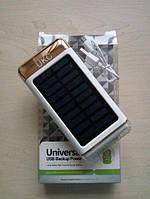 Солнечное зарядное устройство Power Bank UKC 15000mAh с фонарем