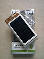 Солнечное зарядное устройство Power Bank UKC 33000mAh с фонарем