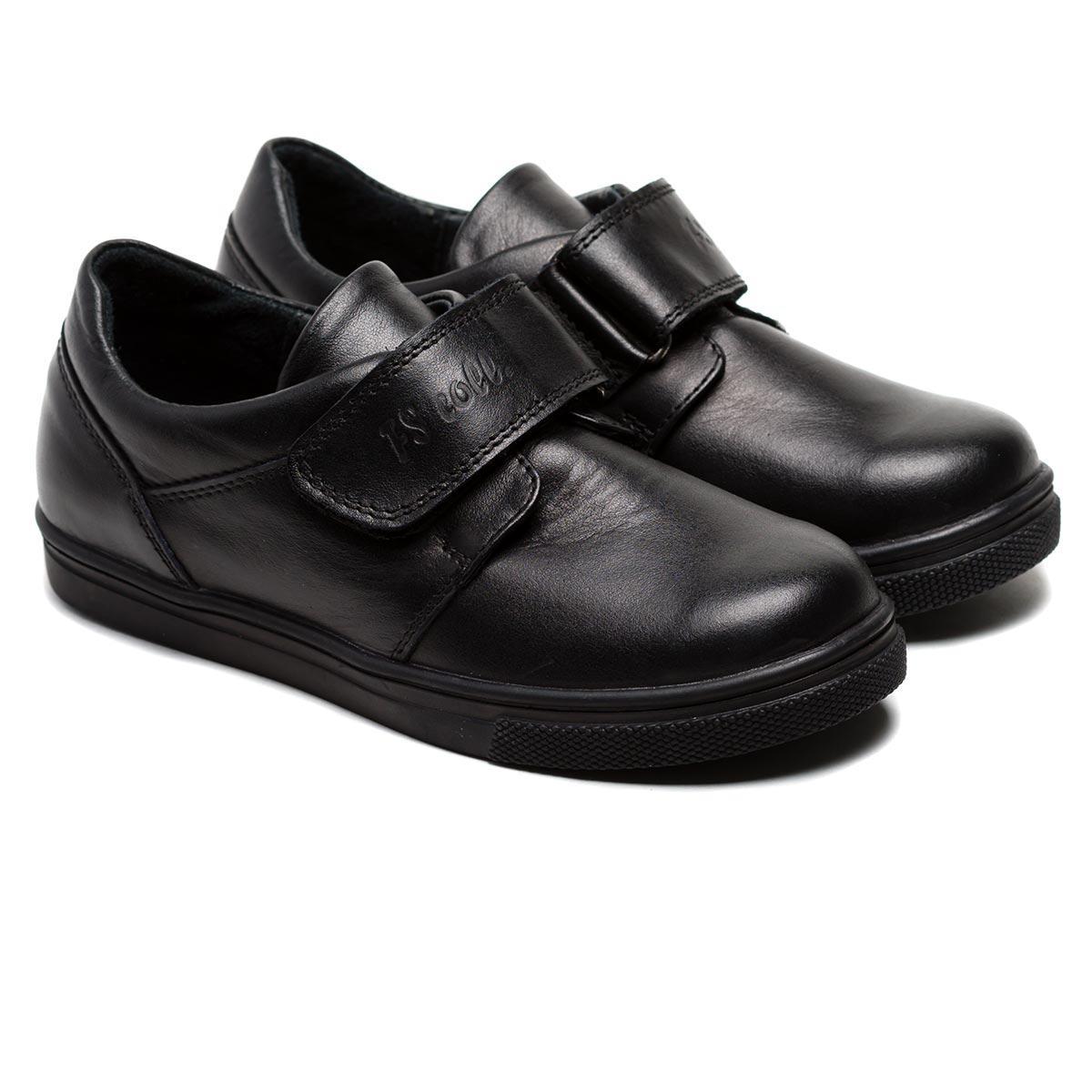 Туфли для школы FS Сollection кожаные на мальчика, размер 28-36