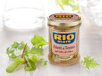 Тунець в олії Rio Mare Filetti, 180г